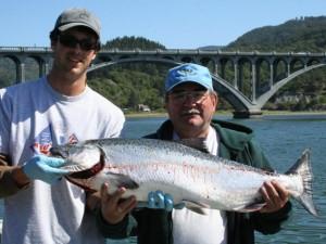 Rogue River Salmon Fishing