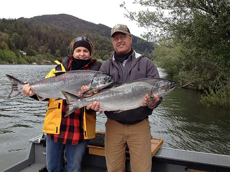 Fishing gallery rogue river guided fishing for Rogue river fishing