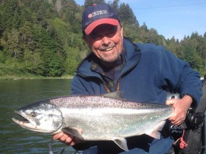 Rouge River Salmon Fishing Guide on the Rogue River