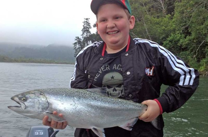 Fun for all ages… Gold Beach Fishing